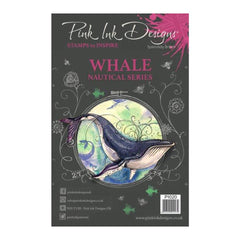 Pink Ink Designs - A5 Clear Stamp Whale
