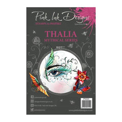 Pink Ink Designs - A5 Clear Stamp Thalia