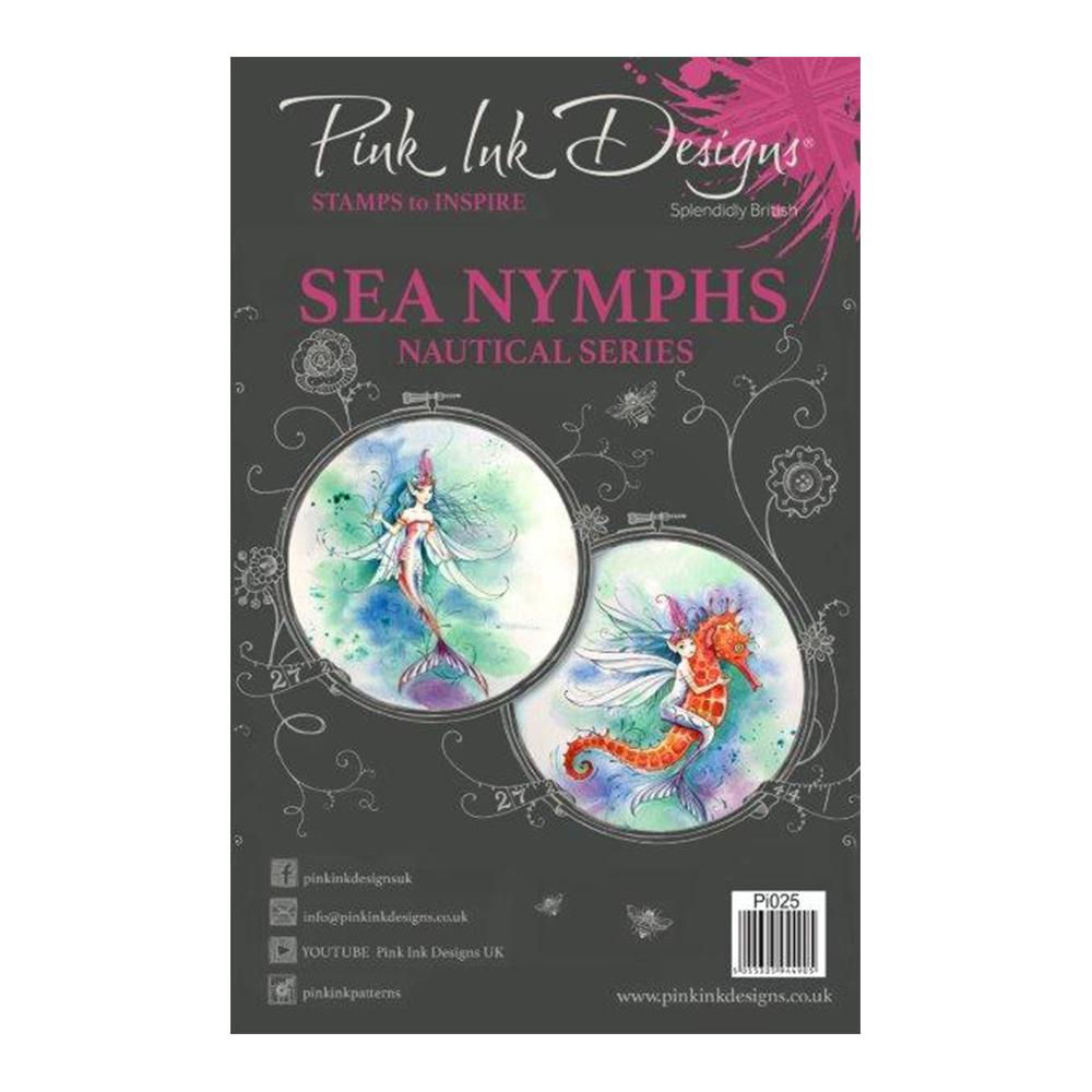 Pink Ink Designs - A5 Clear Stamp Sea Nymph