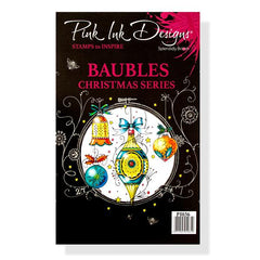 Pink Ink Designs - Clear Stamp - Baubles
