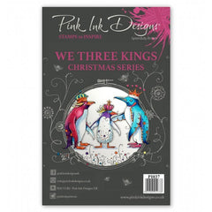 Pink Ink Designs - A5 Clear Stamp - We Three Kings