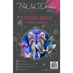 Pink Ink Designs - A5 Clear Stamp - Flying High