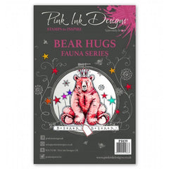 Pink Ink Designs - Clear Stamp - Bear Hugs