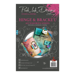 Pink Ink Designs - Clear Stamp A5 - Hinge & Bracket