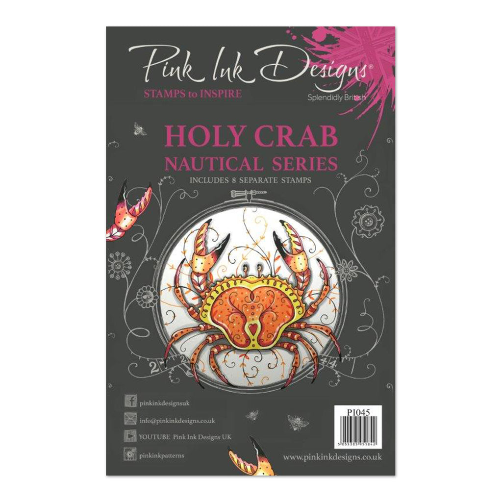 Pink Ink Designs - Clear Stamp A5 - Holy Crab