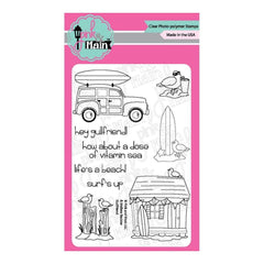 Pink & Main Clear Stamps 4 inch X6 inch Gullfriend