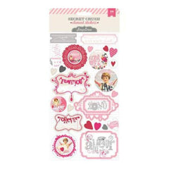 Pink Paislee - Secret Crush - Element Stickers
