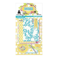 Pink Paislee - Soiree - Mini Notes & Labels Variety Pack