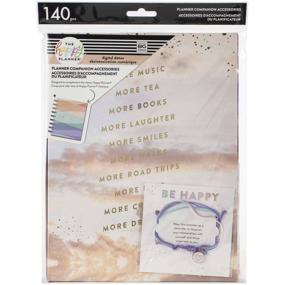 Happy Planner Classic Planner Companion Accessories - Digital Detox, 140 pack
