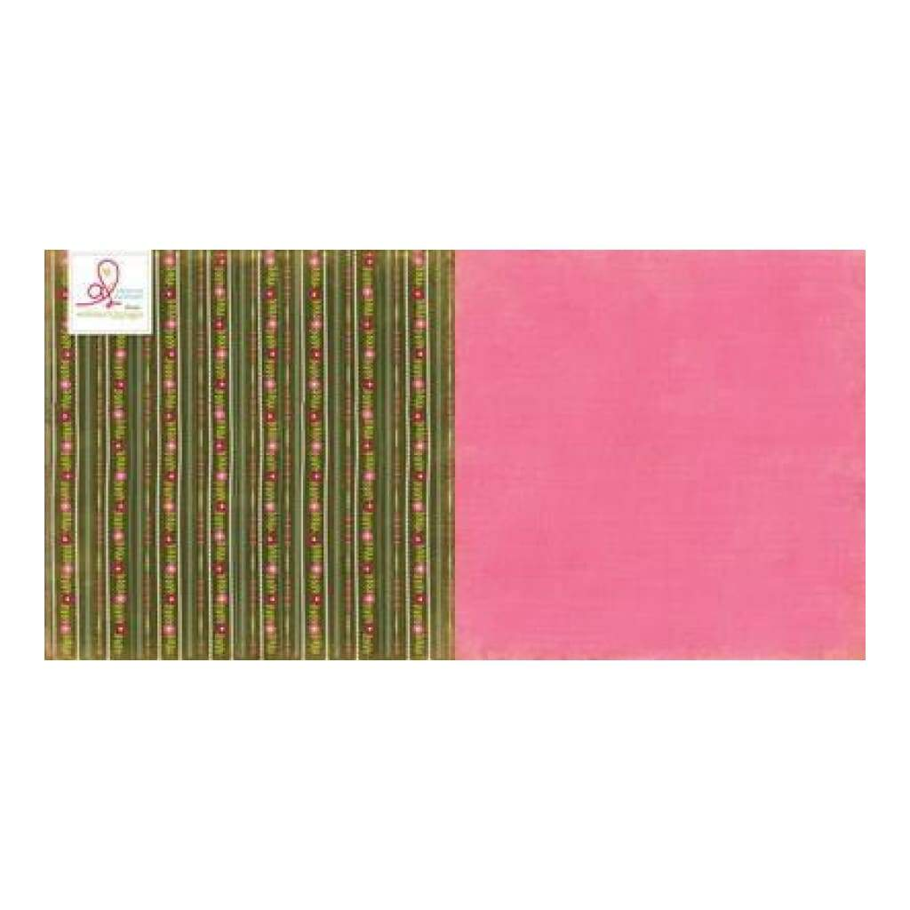 Plum Seed - Plant The Seeds 12X12 D/Sided Paper (Pack Of 10)
