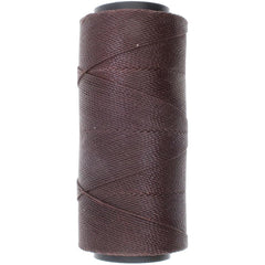 Helby Import - Knot It Waxed Poly Cord 1mmx144 meters - Chocolate
