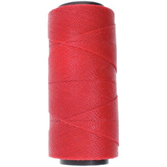 Helby Import - Knot It Waxed Poly Cord 1mmx144 meters - Crimson