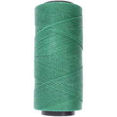 Helby Import - Knot It Waxed Poly Cord 1mmx144 meters - Evergreen