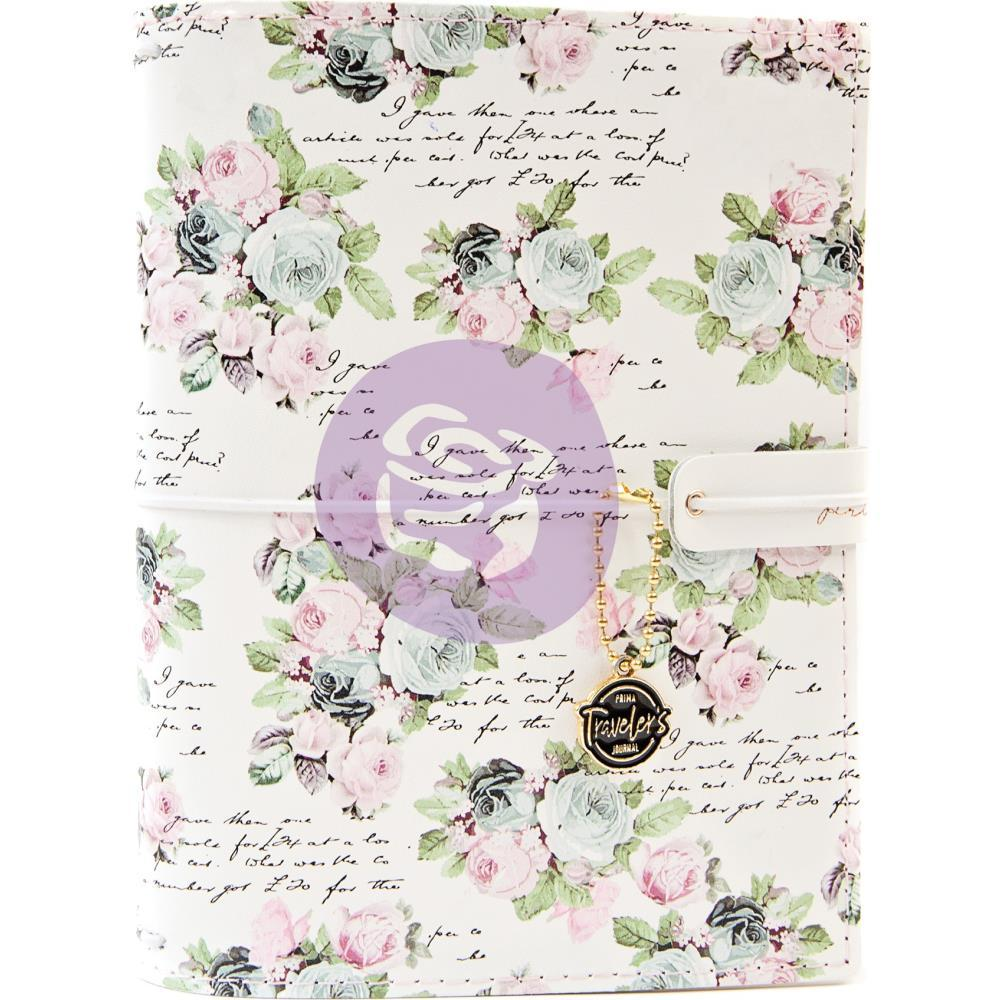 Prima Marketing Travellers Journal Personal Size 5 inch X7.5 inch - Poetic Rose