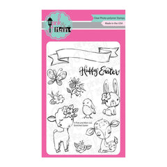 Pink & Main - Clear Stamps 4inch X6inch - Sketched Easter