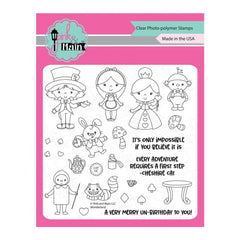Pink & Main - Clear Stamps 6inch X6inch - Wonderland