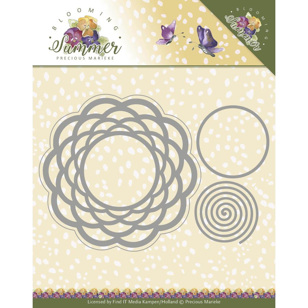 Find It Trading Precious Marieke Die - Braided Circle, Blooming Summer