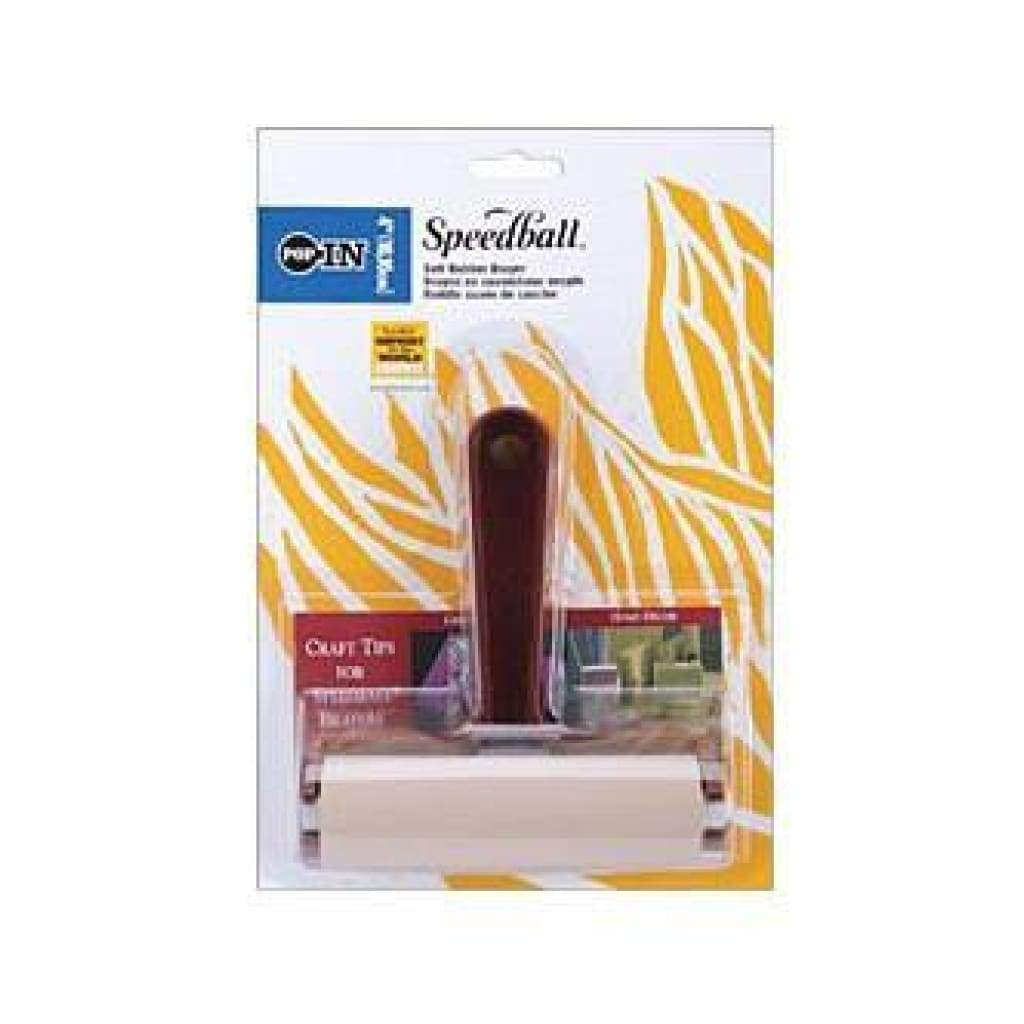 Speedball Brayer 4in - Soft Rubber