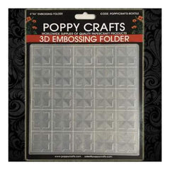 Poppy Crafts 3D Embossing Folders