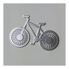 Poppy Crafts Hot Foil Stamps - Bicycle hot foil stamp