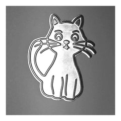 Poppy Crafts - Hot Foil Stamps - Cat