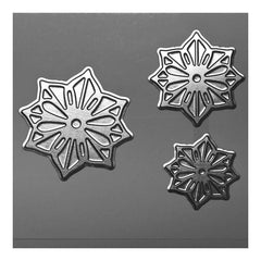 Poppy Crafts - Hot Foil Stamps - Flower Trio Wide