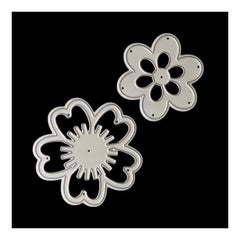 Poppy Crafts - Set of 2 flowers die