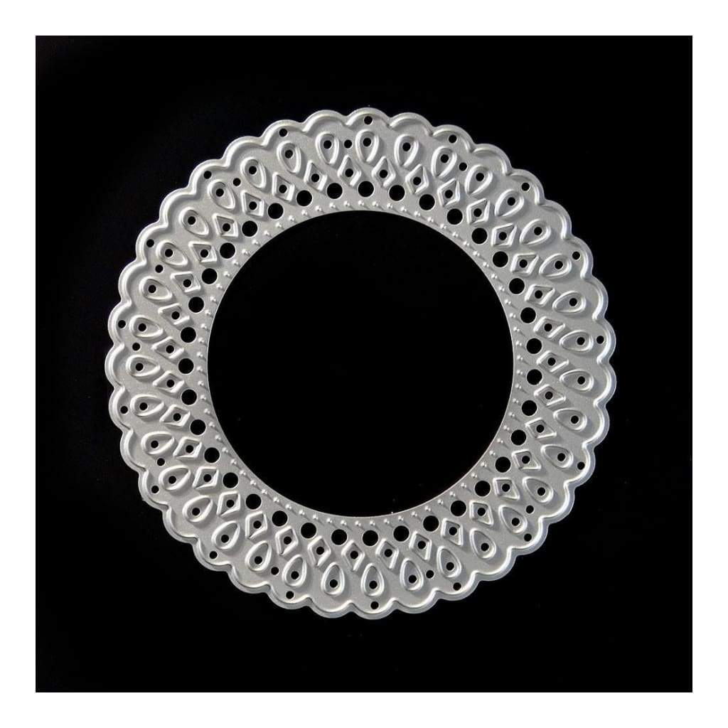 PoppyCrafts Cutting Die - Ornate circle frame die