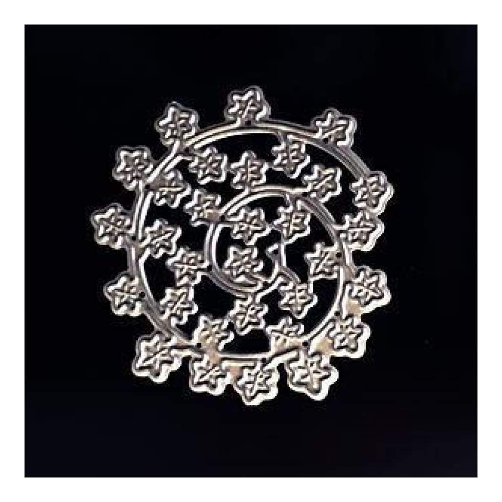 Poppycrafts Ornate Flower Flourish #2 Metal Die