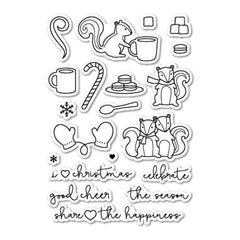 Poppystamps Clear Stamp Sets  - Cup Of Cheer