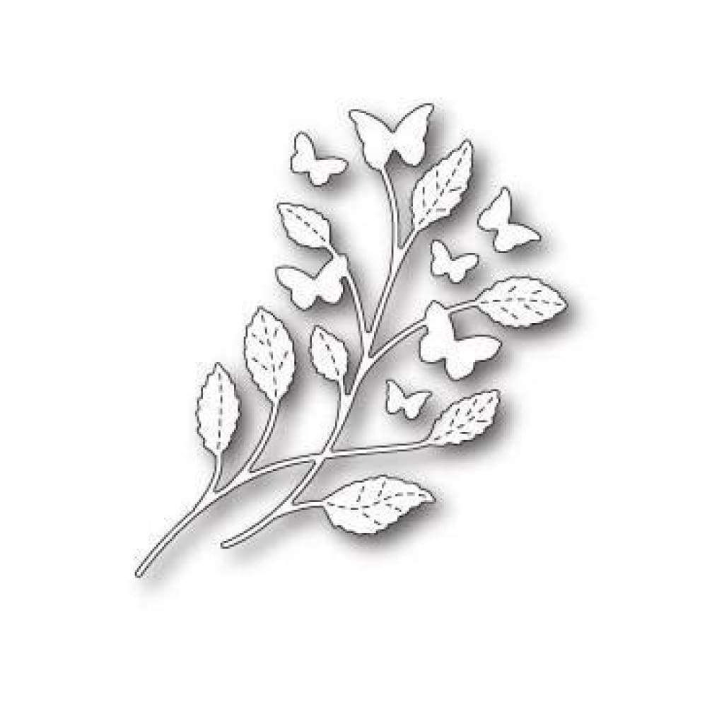 Poppystamps Dies  - Hampstead Butterfly Stem