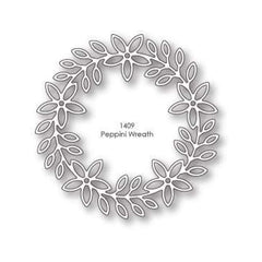 Poppystamps Dies  - Peppini Wreath