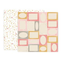 Pink Paislee - Little Adventurer Double-Sided Cardstock 12X12in No.6