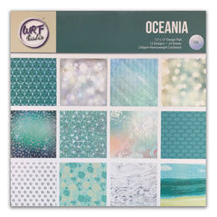 Poppy Crafts - 12x12in Paper Pad - Oceania