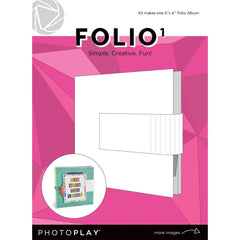 Photoplay - Maker Series Folio 6 inch X6 inch - White