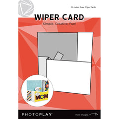 Photo play - Wiper Card 3 pack - Makes 3