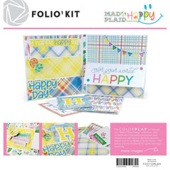 Photoplay - Folio Kit - Mad 4 Plaid Happy