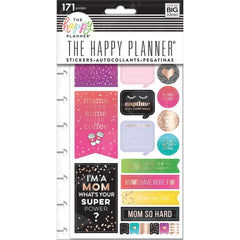 Me & My Big Ideas Happy Planner Stickers 5/Sheets - Mom Boss