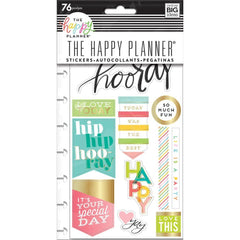 Me & My Big Ideas Happy Planner Stickers 5/Sheets - I Love Today