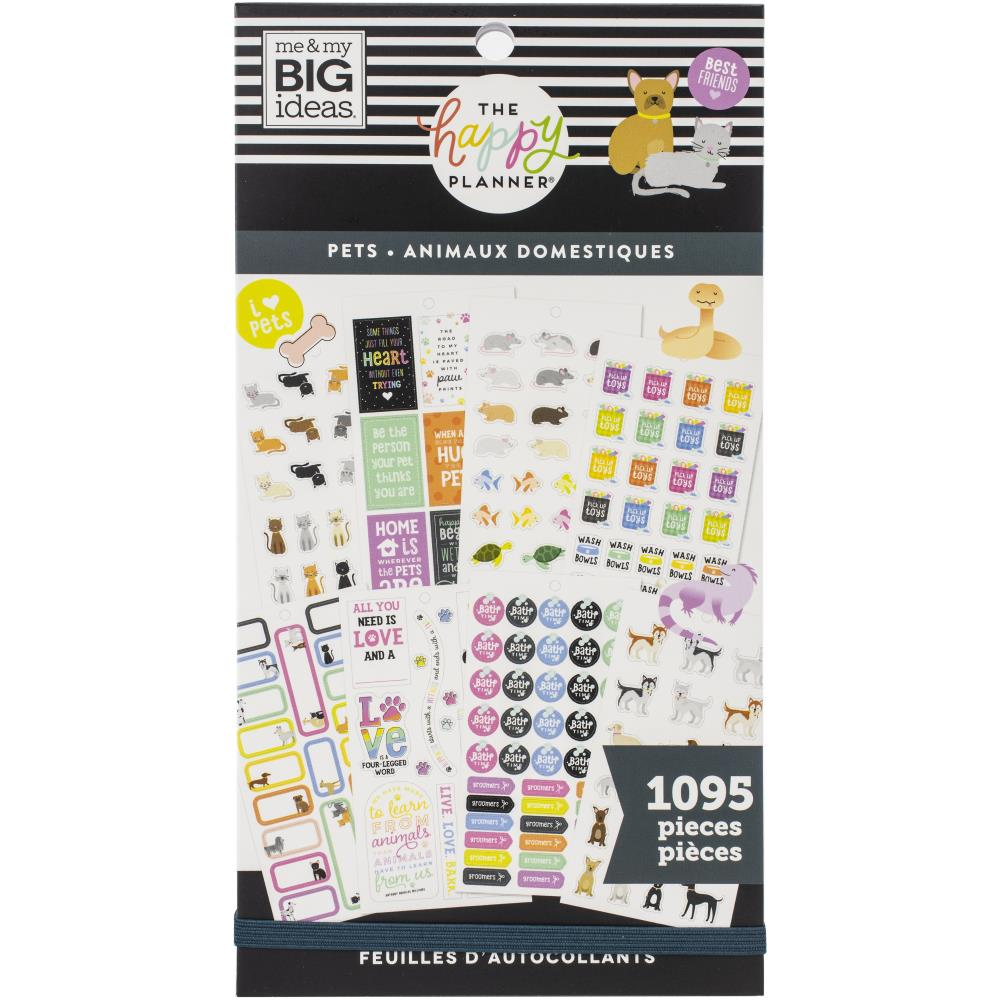 Happy Planner Sticker Value Pack - Pets, 1095 pack