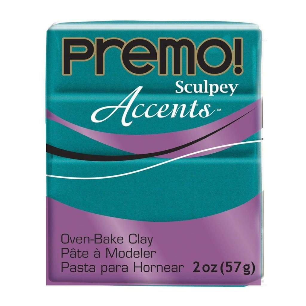 Premo Sculpey Accents Polymer Clay 2oz - Peacock Pearl