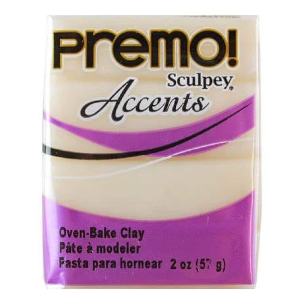 Premo Sculpey Accents Polymer Clay 2oz - Translucent