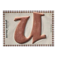Pressed Petals - Letter U - Large - Copper