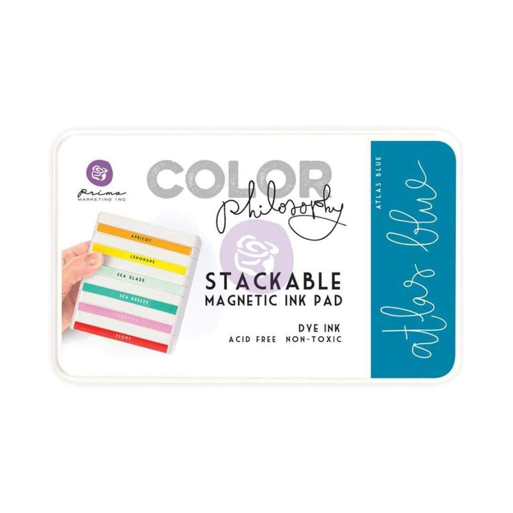 Prima Marketing Color Philosophy Dye Ink Pad - Atlas Blue