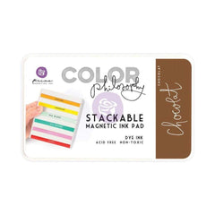 Prima Marketing Color Philosophy Dye Ink Pad - Chocolat