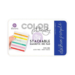 Prima Marketing Color Philosophy Dye Ink Pad - Electric Purple