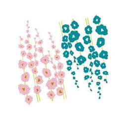 Prima Marketing - Donna Downey - Flocked Iron Ons Flowers