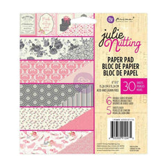Prima Marketing Double-Sided Paper Pad 6 inch X6 inch 30 pack Julie Nutting, 6 Designs/5 Each