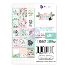 Prima Marketing - Havana Journaling Cards Pad 3 inch X4 inch 45 pack 15 Designs/3 Each