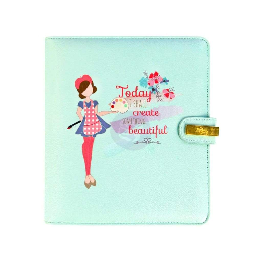 Prima Marketing - Julie Nutting A5 Planner 9.375 inch X9.375 inch X2.625 inch Today I Shall Create Something Beautiful